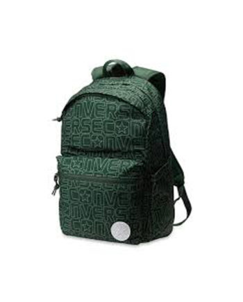 7412407ee61d RANAC UNISEX POLY CHUCK PLUS BACKPACK 1.0 JACQUARD WORDMARK FATIGUE GREEN  Converse